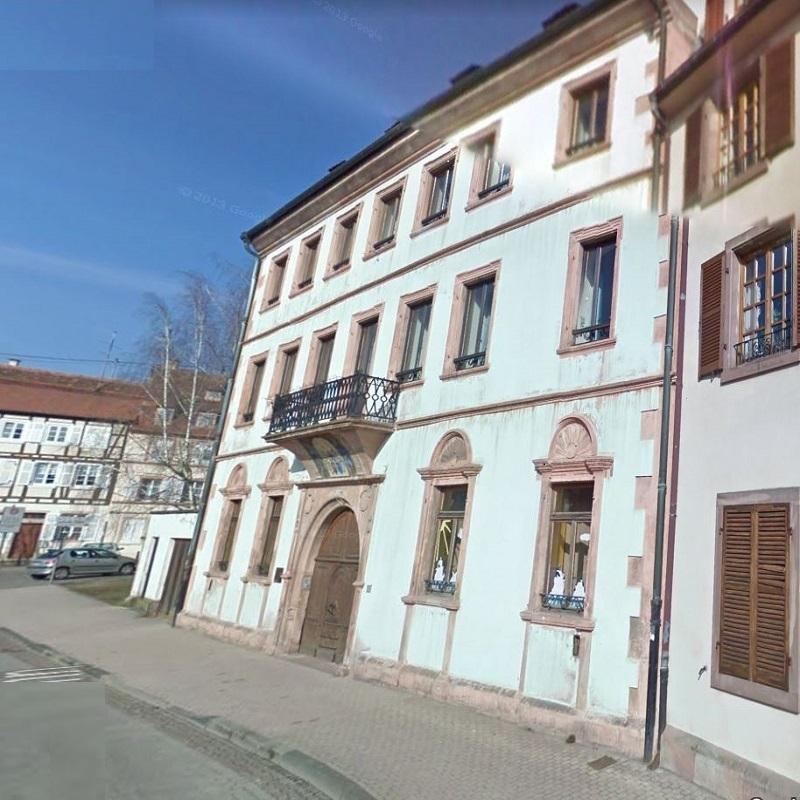 Wissembourg annexe Saint Jean Peintures Pfister