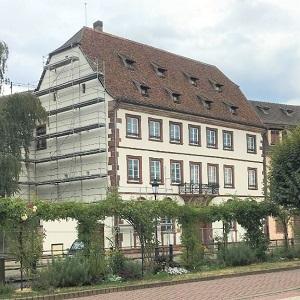 Entreprise Peintures Pfister Wissembourg-Quai-Anselmann-Annexe-Saint-Jean, façade, peinture, décapage, enduisage complet, penture minerale