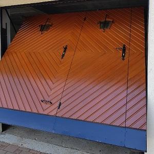 Rénovation d'une porte de garage