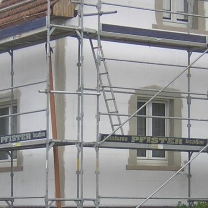 Traitement des angles ITE entreprise d'isolation thermique par l'extérieur Haguenau