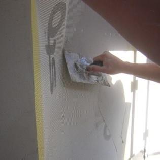 Entoilage du polystyrène entreprise d'isolation thermique par l'extérieur Schleithal