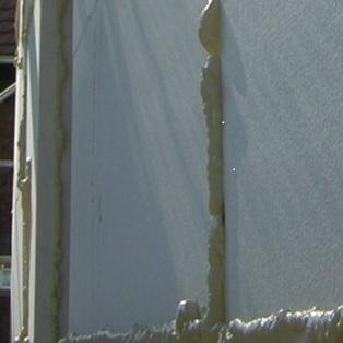 Injection de mousse polyuréthane entreprise d'isolation thermique par l'extérieur Riedseltz