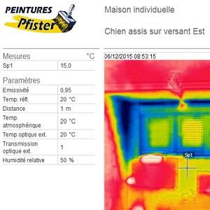 rapport et etude en imagerie thermique